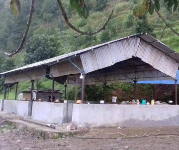 Bâtiment de la future école.